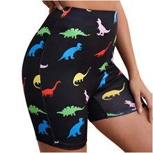 Pantalones cortos deportivos sin costuras para mujer, Shorts informales de cintura alta, para entrenamiento y Fitness