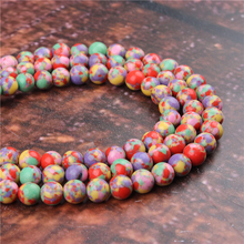 Fashion Color Emperor Round Beads Loose Jewelry Stone 4/6/8/10 / 12mm Suitable For Making Jewelry DIY Bracelet Necklace