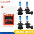 Cawanerl  4 шт.  100 Вт  галогенная лампа  теплый белый свет  4300 К  Автомобильный источник света  фара дальнего и ближнего света для Honda Accord  90-2007