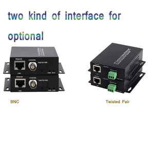 Image 2 - 2km Ethernet Extender Over IP Coaxial Network Extender 1080p  Video Converter Transmitter Receiver Support HIKVISION Dahua