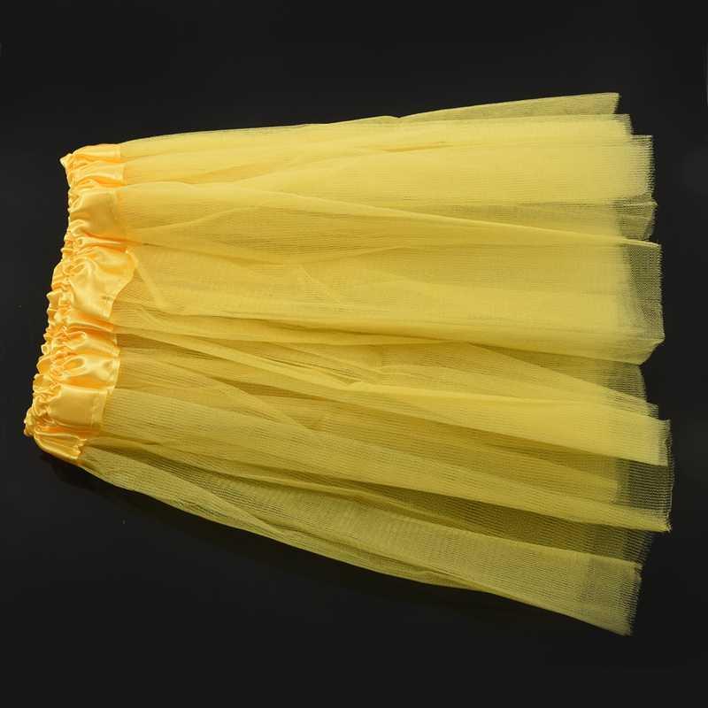 חם-ילדים בנות מודרני בלט הלבשה פיות טוטו חצאית צהוב