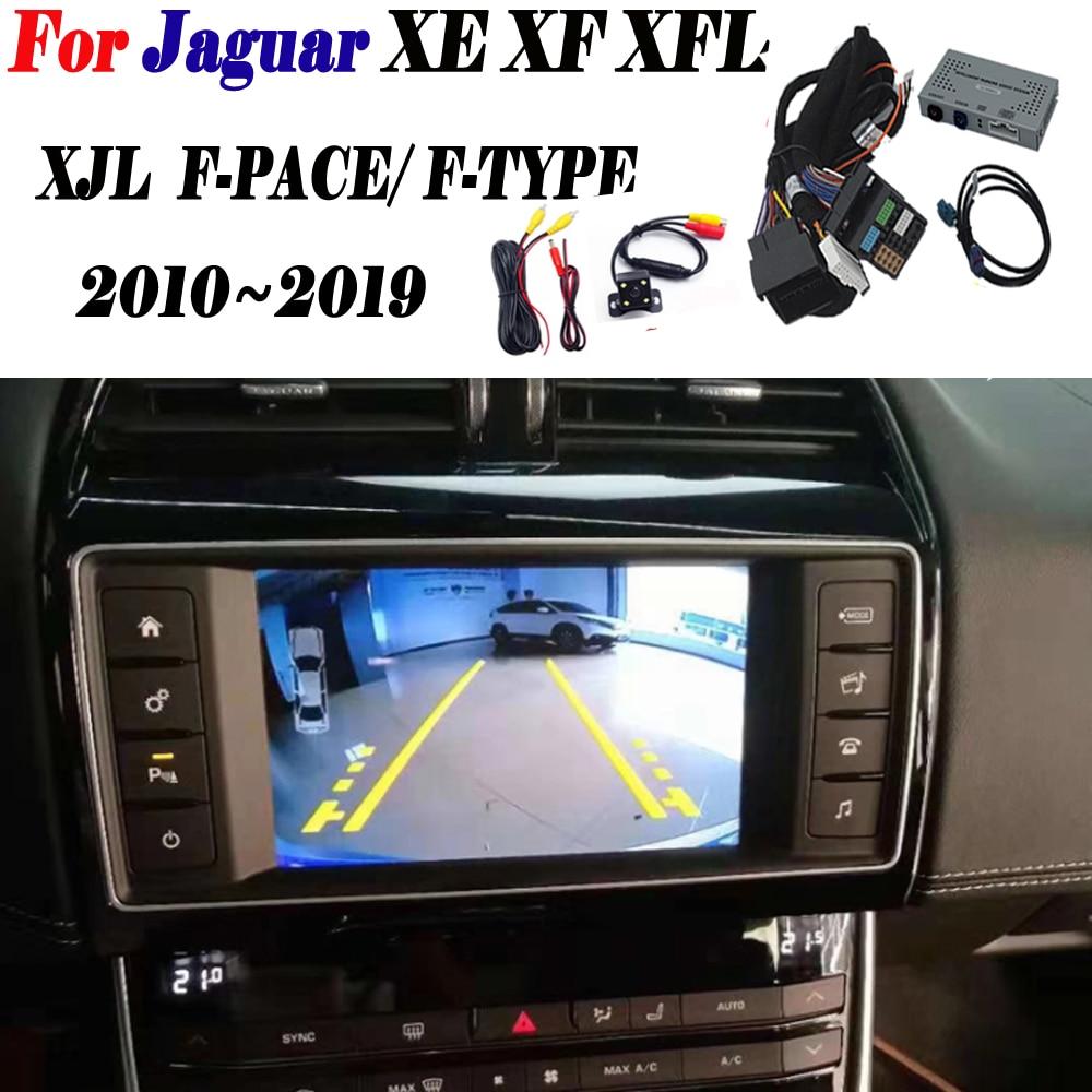 Rear Camera For Jaguar XE XF XFL XJL F-PACE/ F-TYPE Interface Original Screen Display Parking Front Camera Decoder