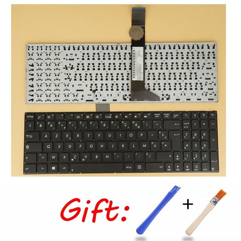 New for ASUS R510 R510C R510CA R510CC R510J R510JD FR French Keyboard Palmrest