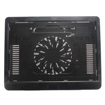 S SKYEE Backlight Computador Radiador Preto Branco Fino USB Laptop Cooling Pad Notebook Cooler Stand com 140mm De Resfriamento LEVOU fã
