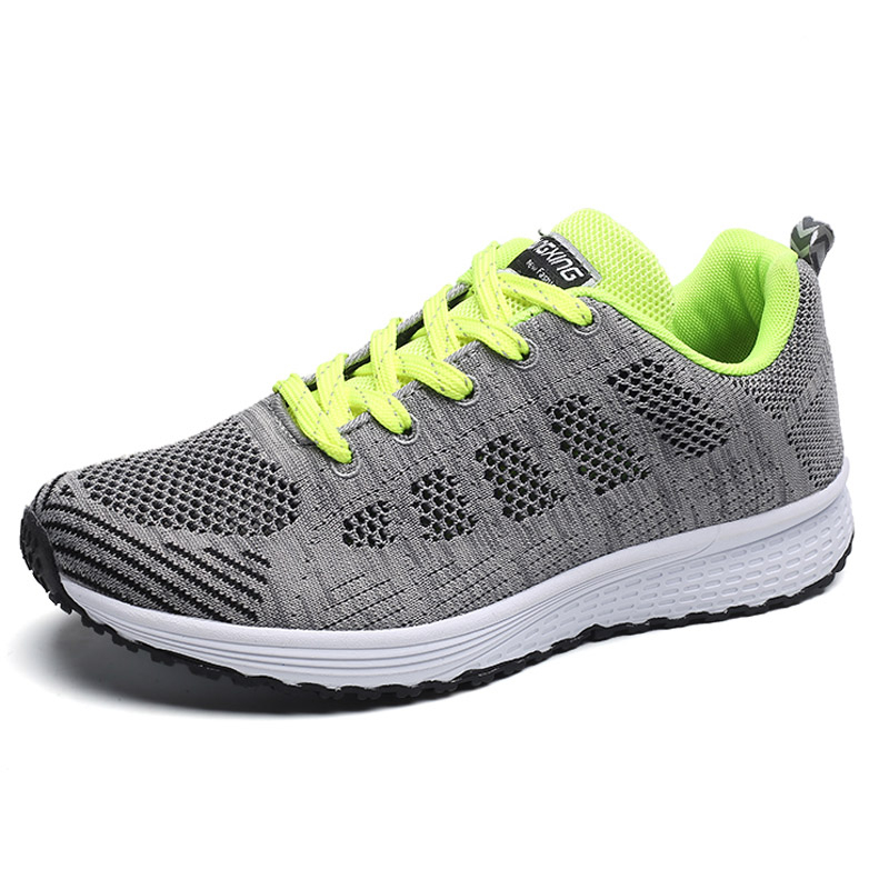 Green Tenis shoes