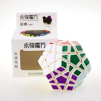Rubic cube megaminx magic cubes stickerless speed professional 12 sides puzzle cubo magico educational toy