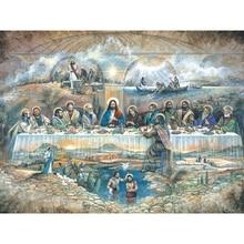 Diy картина по номерам христианский масла Раскраска религиозная