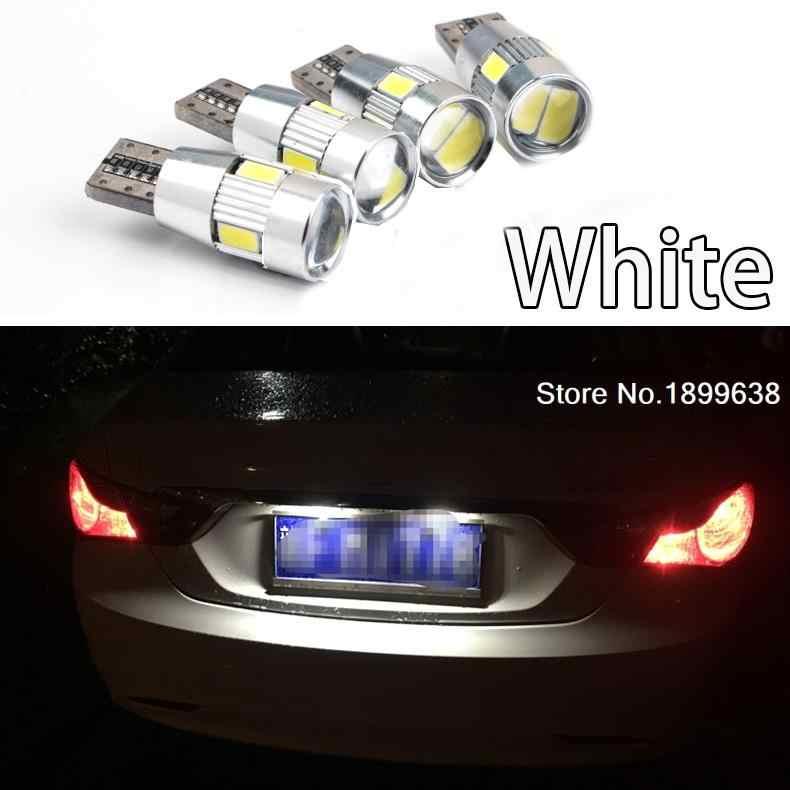 1pc No error T10 light 194 W5W LED license plate lights LED Lamp for Kia K2 K3 K4 K5 Rio Forte Carens Carnival Sorento Borrego
