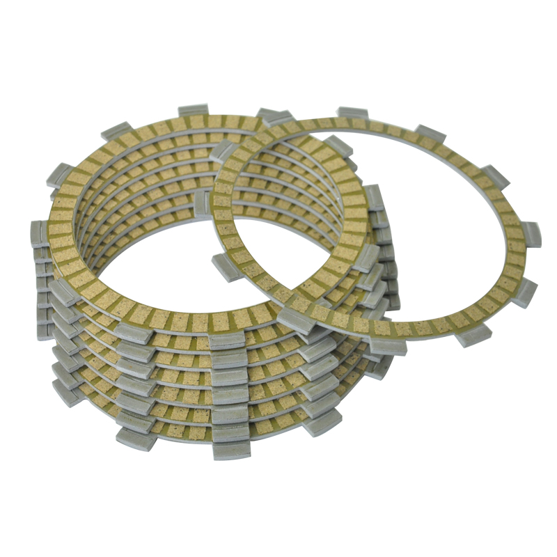 8pcs Motorcycle Friction Clutch Plates For Yamaha YZ400 WR400 F WR400F 98-00  YZ400F 98-99 Motorbike Engine Parts