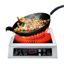 3500W Induction Cooker Commercial/Household Large Power Touch Control Electromagnetic Stove WFY-L001