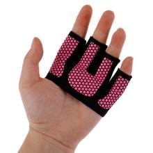 2 шт противоскользящие перчатки для спортзала дышащее упражнение для укрепления тела тренировочные спортивные перчатки для фитнеса мужские и женские Кроссфит тренировки спортивные