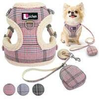 Haustier Hund Geschirre Weste Chihuahua Welpen Katze Weiche Keine Pull Einstellbare Harness Leine Set Für Kleine Mittelgroße Hunde Mantel Arnes perro