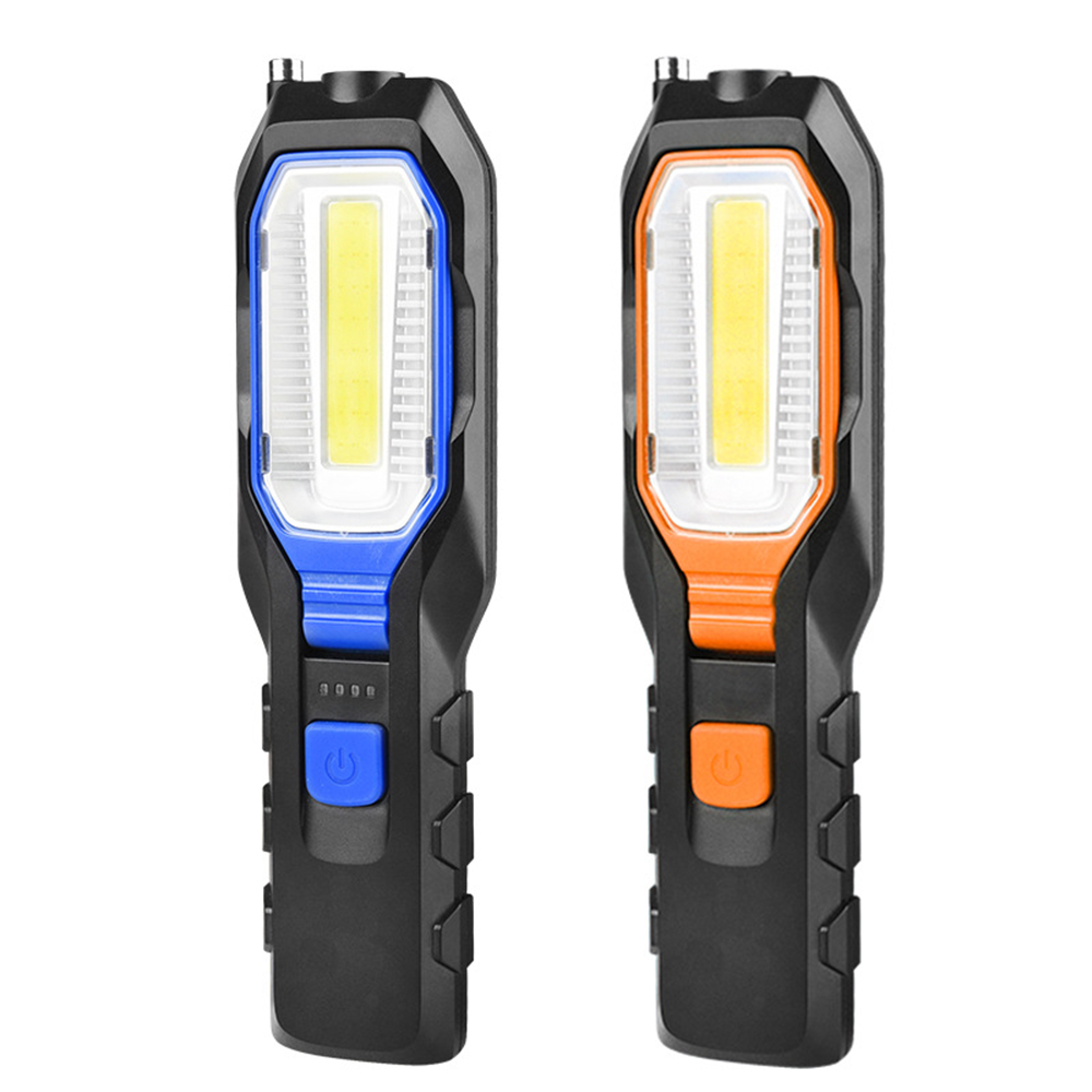 1PC XPE/COB Glare LED Worklight Spotlight USB Rechargeable Emergency Flashlight With Magnetic Car Inspection Repair Lamp