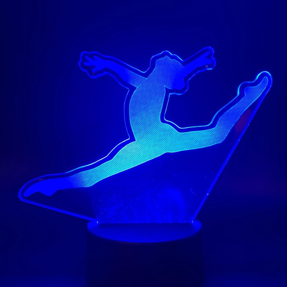 Figure Night Light Led USB Touch Sensor for Children bedroom Gift Decorative 3D unique Lamp