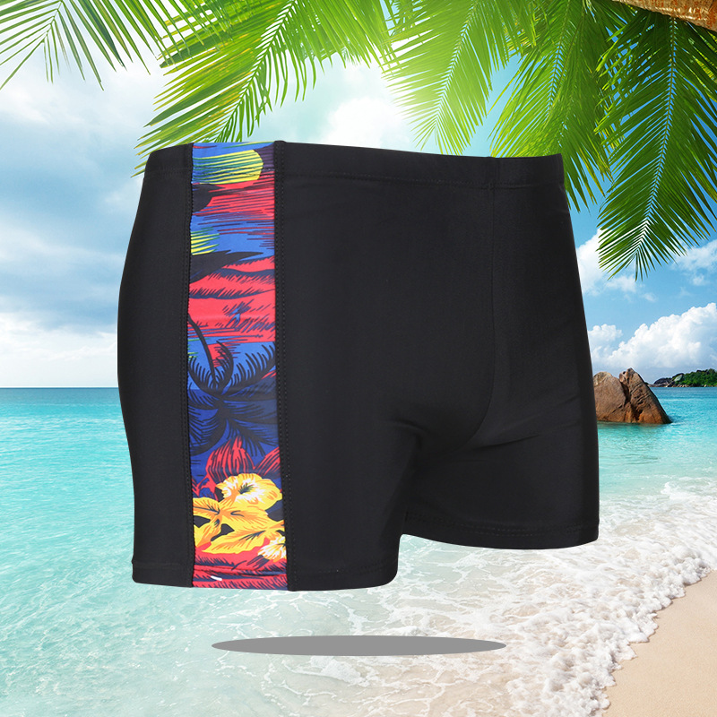 New Style Men Aussiebum Printed Designation Strip Men Hot Springs Beach Swimming Trunks