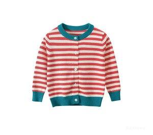 Image 5 - Dziecko zima sweter wiek dla 1 8 proste grube ciepłe dzieci swetry 2019 nowa wiosna dziecko bluzki z dzianiny słodkie maluch dziewczyna czerwony sweter