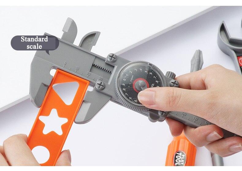 Simulação kit de reparação simulação broca elétrica