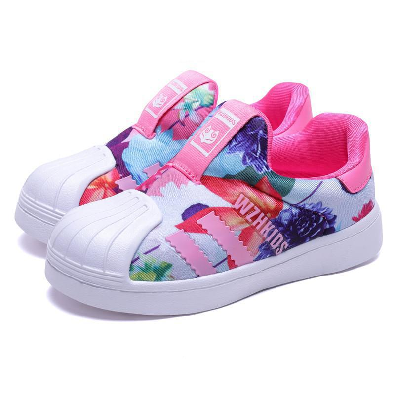 2020 Spring Kids Shoes For Toddler Girl Sneakers Boys Mesh Breathable Casual Children Shoes Girl Sport Running Child Flat Shoes