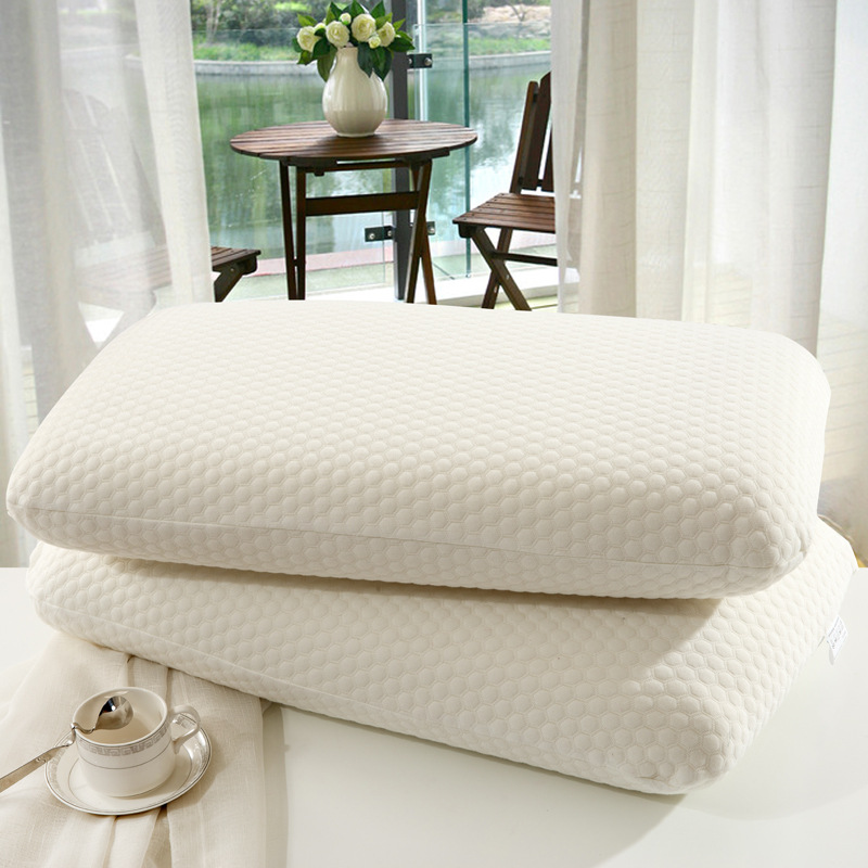 Memory foam pillow bread pillow air layer slow rebound vertebrae health care memory pillow cervical pillow custom wholesale