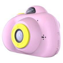 K9 цифровой 1080P Мини Камера 2 дюймов с милым рисунком Камера игрушки для детей; подарок ребенку на день рождения игрушки Для детей Камера(розовый