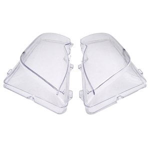 Image 5 - Car Headlight Glass Cover Clear Transparent Automobile Headlamp Head Light Lens Auto Products For BMW E46 3 series 2002 2006