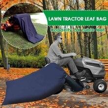 Газон лист мешок сад езда газонокосилка трактор лист сумки трава подметальная машина мешок несущей мусора 54 кубических футов Открытый Двор мусорное ведро