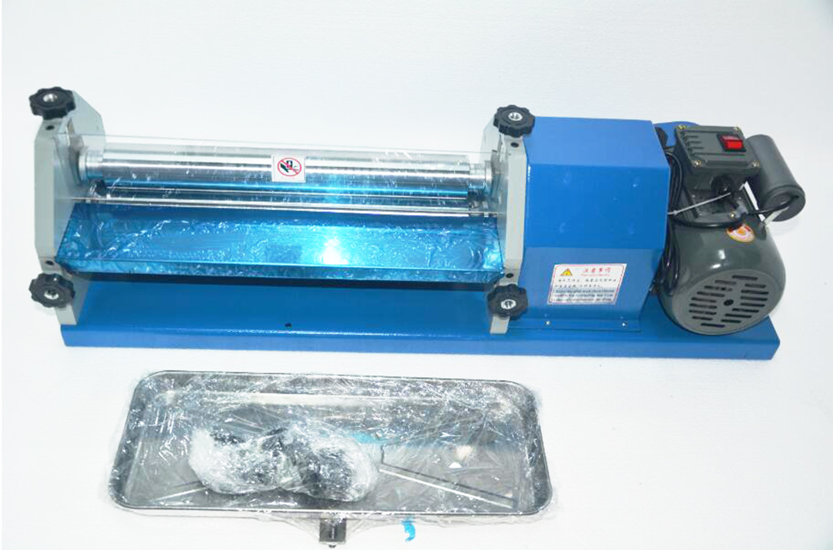 27cm Automatic Gluing Machine Glue Coating  Industry 110V For Paper//Leather