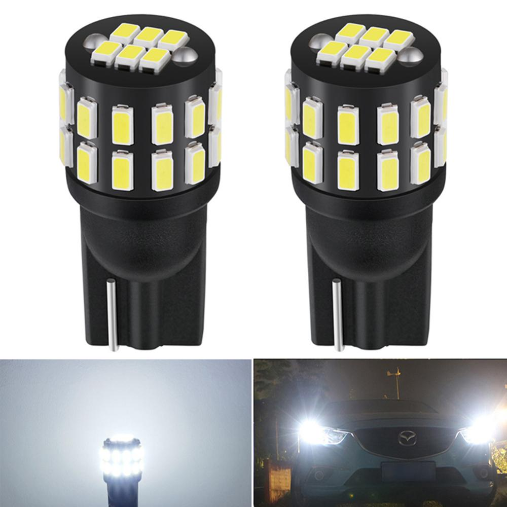 2x Canbus T10 W5W 168 194 <font><b>LED</b></font> Bulb Clearance Parking Lights For <font><b>Audi</b></font> A6 C5 C6 C7 A3 8P 8V <font><b>A4</b></font> <font><b>B5</b></font> B6 B7 B8 A5 A7 A8 Q3 Q5 Q7 TT R8 image