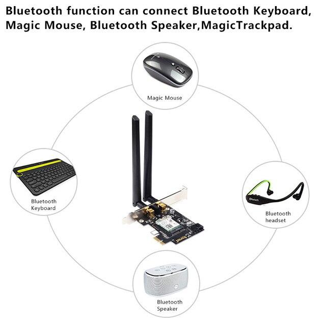 Desktop Wireless Wifi PCI-E Adapter AX200 NGFF M.2 Wi-Fi Dual Band 2400Mbps Bluetooth 5.1 Card 802.11ac/ax Windows 10