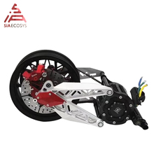 QS 138 12inch 3000W 138 72V 100KPH Mid Drive Motor Escooter Conversion Kits without motor and controller