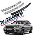 Автомобильные аксессуары  подходят для 2018 2019 2020 BMW X3 G01  задний бампер  накладка на багажник  накладка  отделка  нержавеющая сталь  для стайлин...