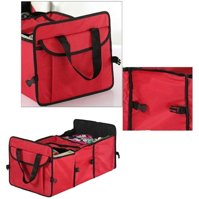 lcyonger 1 шт автомобильный органайзер с карманами багажник фотография