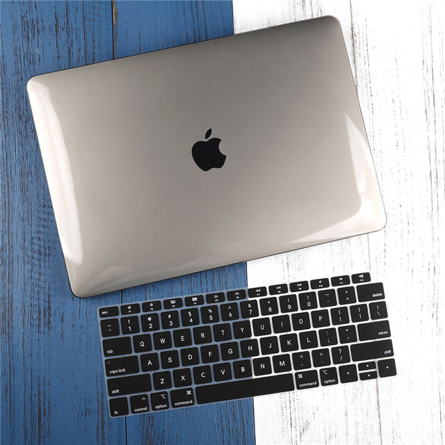"""For Macbook Air 11 12 13.3"""" Crystal Clear Cover for Macbook Air Pro 13 15 16 Touch Bar/Touch ID 2019 2020 A1932 A2159 A2141 3"""