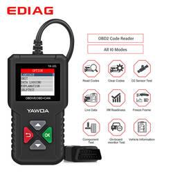 Ediag YA101 YA-101 OBDII/EOBD 16Pin считыватель кода диаграмма данных USB обновление OBD2 диагностический инструмент PK Cr3001 om123 ad310 elm327
