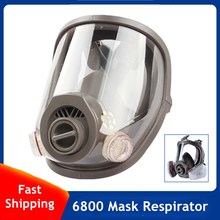 Respirator Full-Face Facial-Protection-6800 CARTRIDGE-FILTERS Gas-Mask Can-Work Welding-Spraying