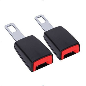 New Car Seat Belt Buckle Clip Extender Car Safety Insuance Belts Extender Safety Belt Buckles Extension Accessories