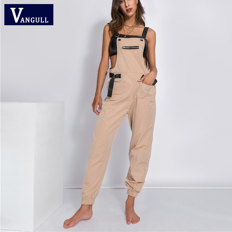 Vangull Off Shoulder   Jumpsuit   Women Long   Jumpsuit   2019 New Fashion Spring Autumn Rompers Female Strap   Jumpsuits   Streetwear