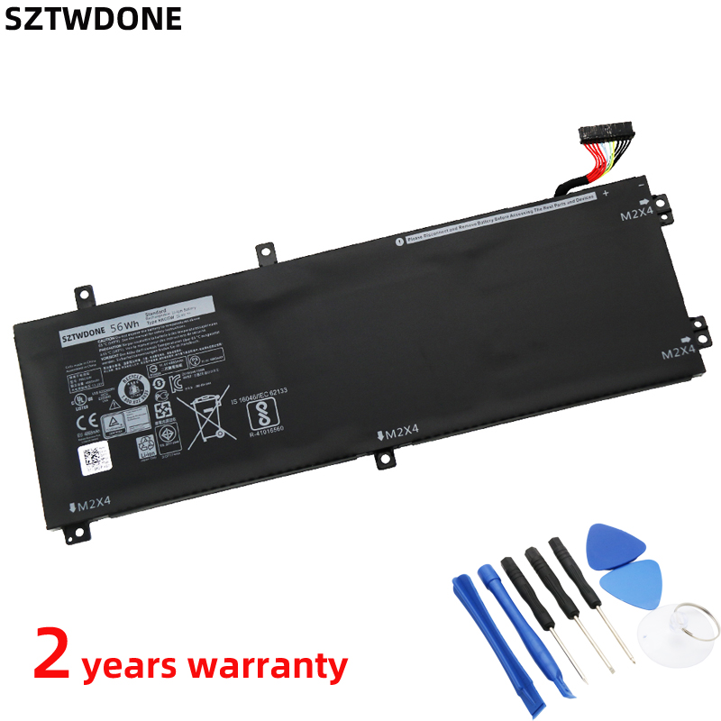 SZTWDONE RRCGW New Laptop battery For <font><b>DELL</b></font> <font><b>XPS</b></font> 15 <font><b>9550</b></font> Precision 5510 M7R96 62MJV 11.4V 56WH 4865MAH image