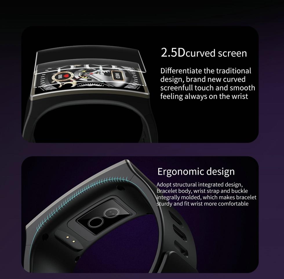 Hfec9d43760574d42a25c092c5882ef8ds Smartwatch 2020 1.9 Inch 170*320 Screen LEMFO DM12 Smart Watch Men IP68 Waterproof Sport Heart Rate Blood Pressure Android IOS