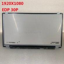 Definição 1920x1080 do pino da tela 15.6 edp30 do lcd do caderno de LP156WF6-SPP1 polegadas