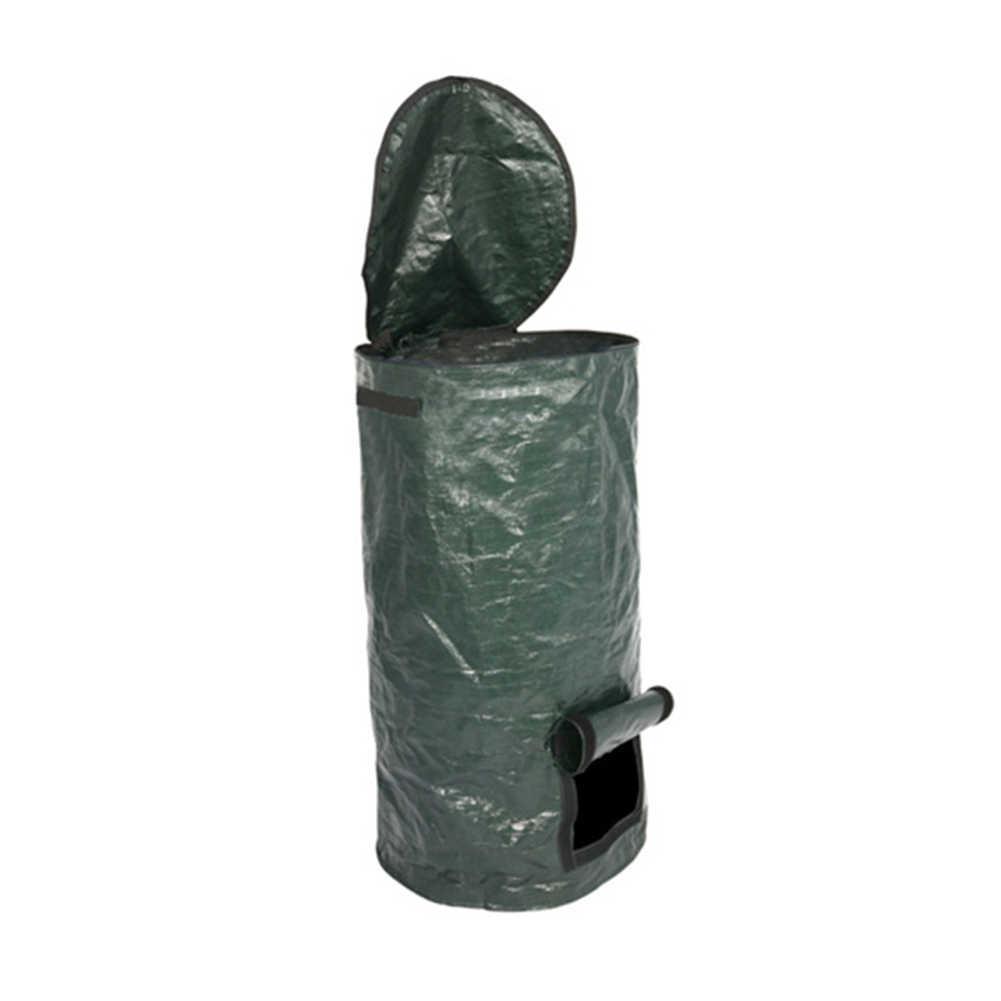 Collapsible Garbage Bin Garden Waste Bag Camping Trash Can Leaf Gardening Bag Laundry Storage Basket Yard Waste Bins Aliexpress