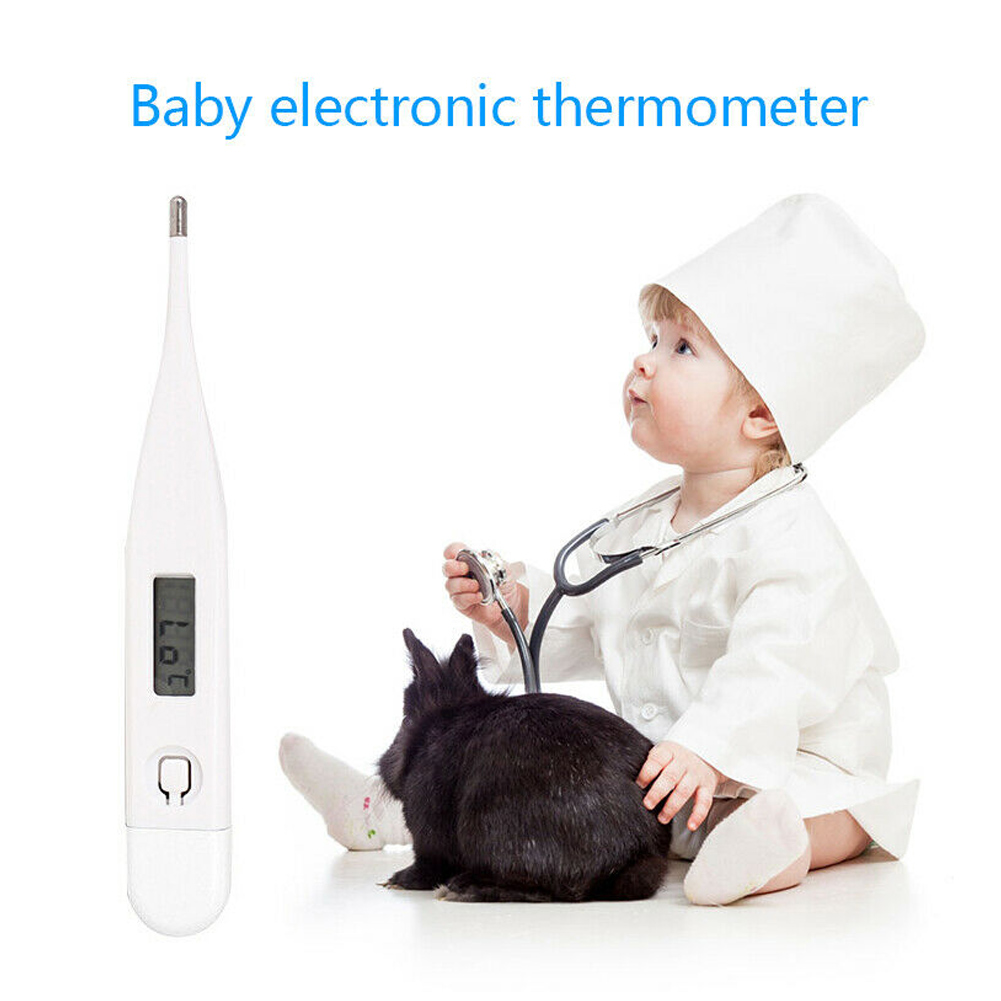 Household Electronic Thermometer 1Pc Baby Adult Electronic Digital LCD Thermometer Baby Adult Body Safe Oral Thermometers