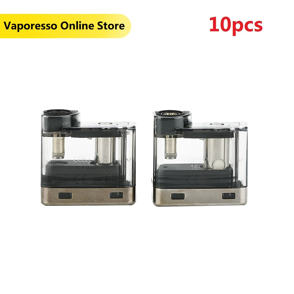 Newest Vaporesso Degree Pod 2ml Capacity 2pcs/pack With 0.6ohm Coil & CCELL 1.3ohm Coil For Vaporesso Degree Vs Renova Zero