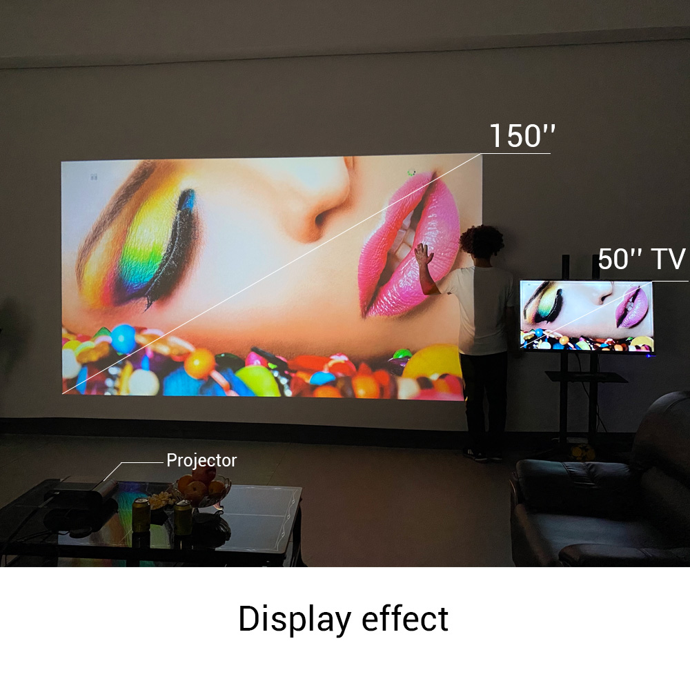 BYINTEK K9 Mini 1280x720P Portable Video Beamer LED Projector Proyector for 1080P 3D 4K Cinema(Option Multi-Screen For Iphone 6
