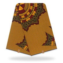 High quality Original real wax 100% cotton african fabric print 2020 latest 6yards of ankara