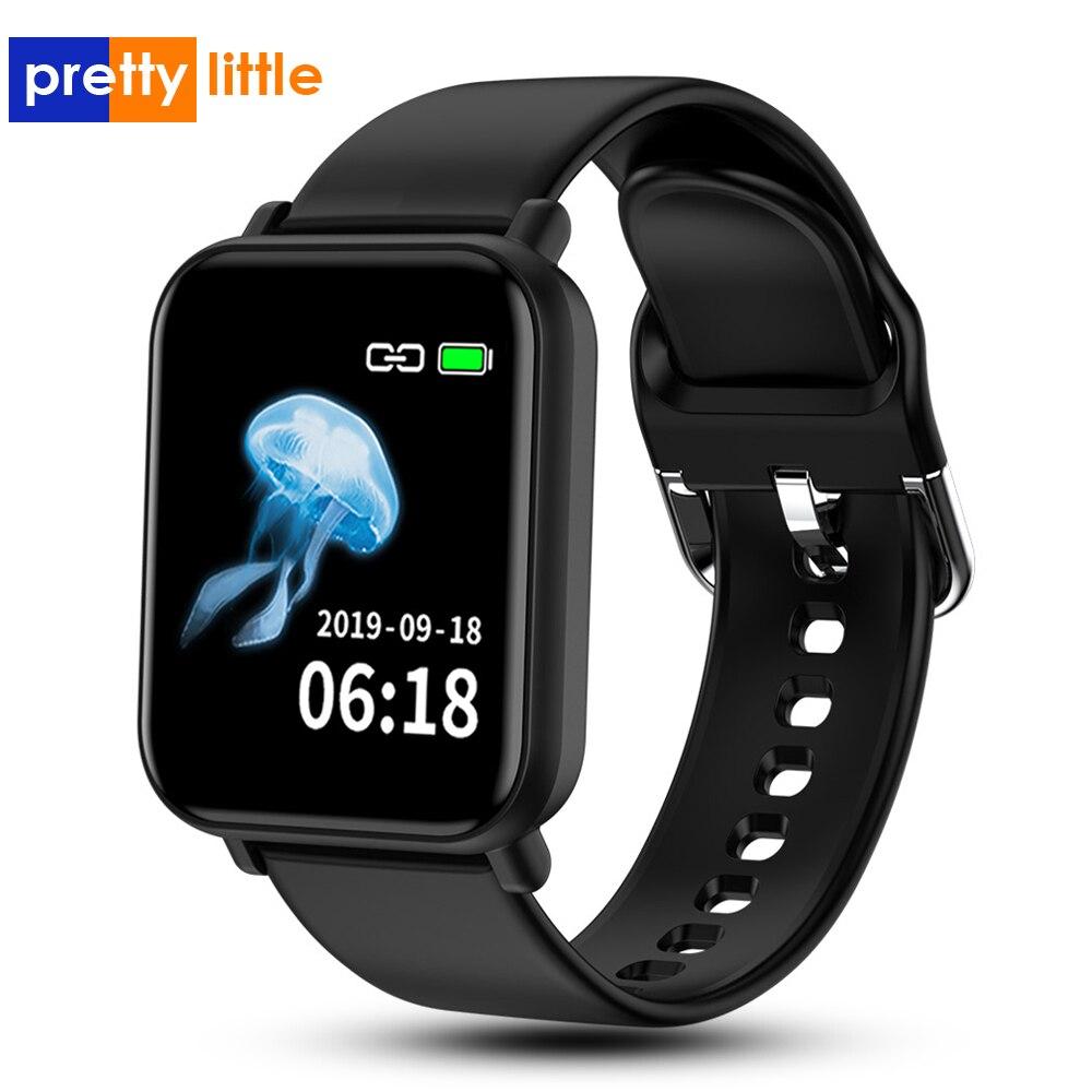 R16 мужские Смарт-часы для Android Apple, часы IP68, водонепроницаемые, пульсометр, кровяное давление, умные часы для женщин PK P68 P70 B57