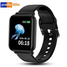 R16 relógio smartwatch para android e apple, smartwatch à prova d água ip68, monitor cardíaco, pressão sanguínea, para homens e mulheres, pk p68 p70 b57