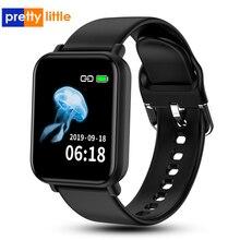 Reloj inteligente r16 PK P68 P70 B57, reloj inteligente resistente al agua, con control del ritmo cardíaco y de la presión sanguínea para Apple Watch y Android