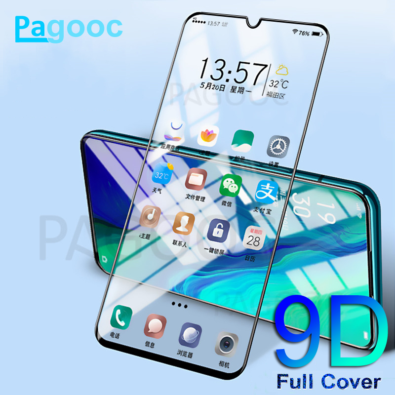 9D Curved Edge Tempered Glass On For Samsung Galaxy A10 A20 A30 A40 A50 A60 A70 A80 A90 M10 M20 M30 M40 Screen Protective Glass