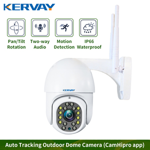 Outdoor PTZ Wireless CCTV 1080P Full HD Ip camera Home security 2MP wifi camera Move Detection Waterproof RJ45/Wifi Dome Camera